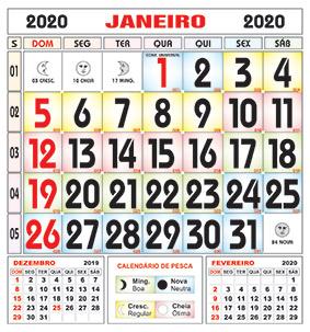 Calendario Pesca 2020.Folhinha Comercial Rj 2020 Brindes Diplomata